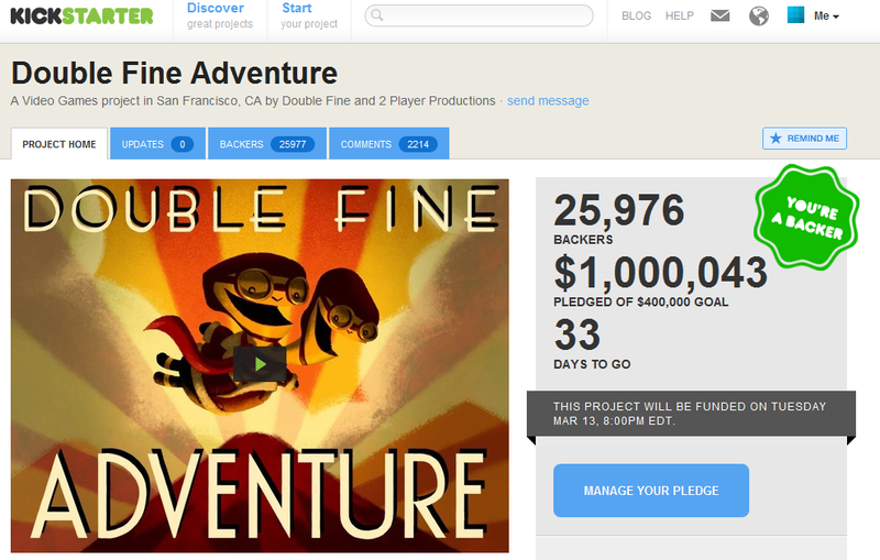 Double Fine's New Game is a 24-Hour Millionaire