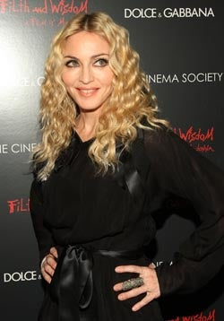 Definitely Crappy Fashions At Screening Of Madonna's Doubtless Crappy Film