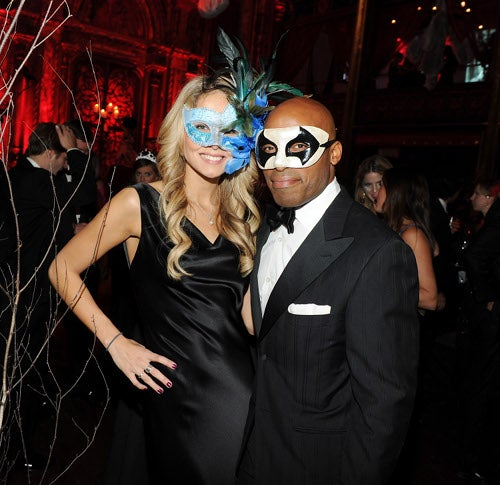 What Exactly Are The Bush Twins Supposed To Be At This Masquerade?