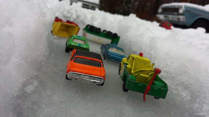 SOUTHERN DRIVERS IN THE SNOW