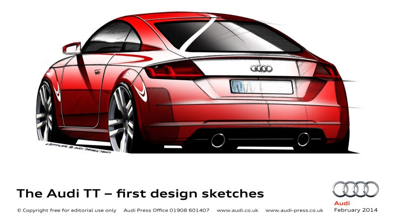 This Is What The 2015 Audi TT Will Look Like