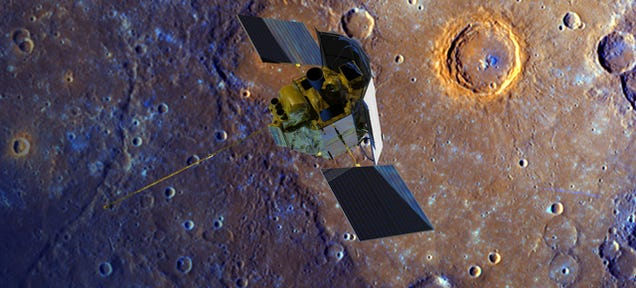 NASA to Send Messenger on a Final Trip So Close to Mercury It Could Melt
