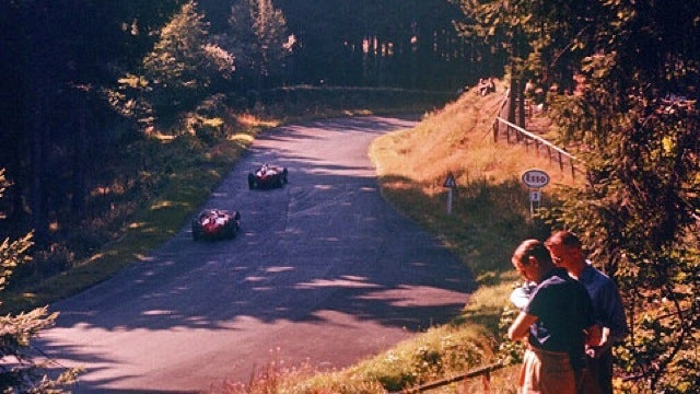 Amazing new photos from the 1957 German Grand Prix