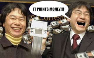 Nintendo's First Half Profit Nearly Triples, Money Printers Can't Keep Up
