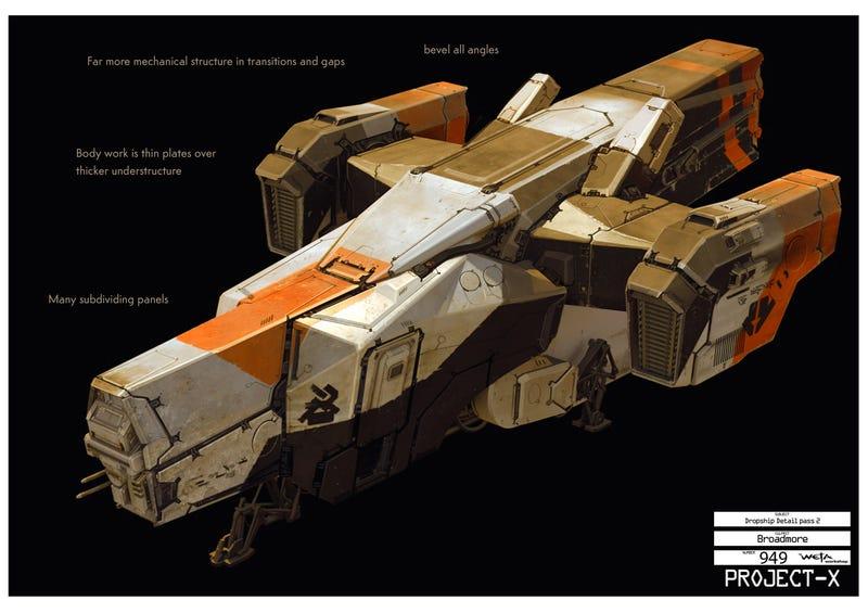 Amazing District 9 Concept Art