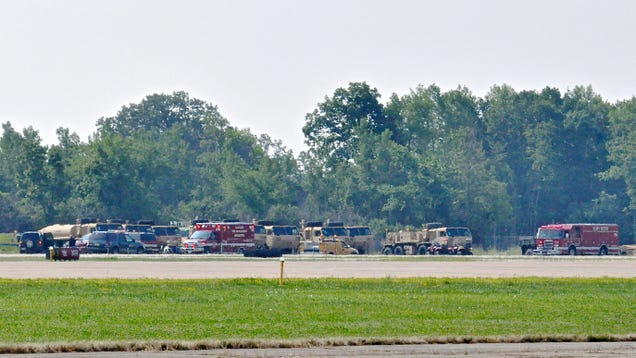 Crash Claims Pilot's Life At AirVenture