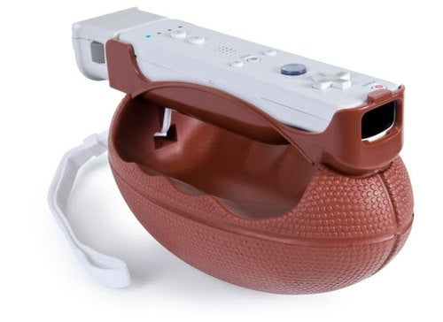 Look, Somebody Actually Made A Wii Football Controller