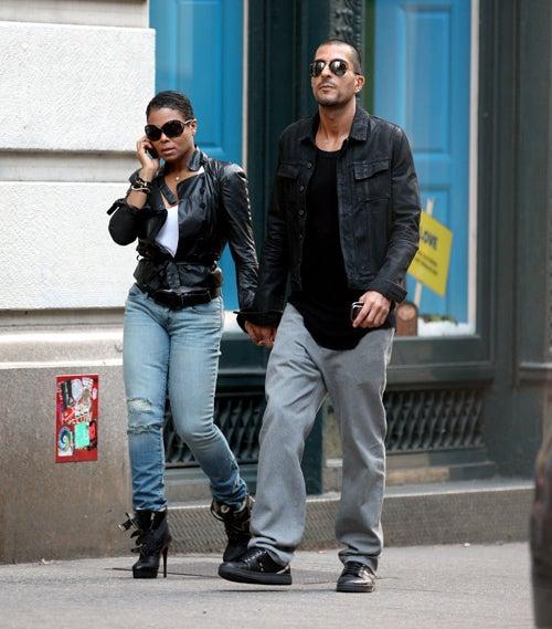 Janet Jackson & Her New Boyfriend Do That Dress-Alike Thing