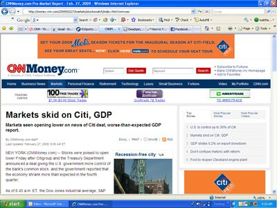 Unfortunate Ad Placement, New York Mets Edition