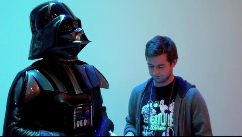 Gizmodo Interviews Darth Vader, Man of Few Words