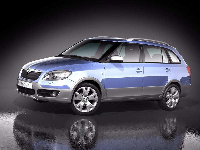 Skoda Fabia Scout Concept: Party Like It's 1999!
