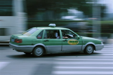 Black Magic Cab: The Volkswagen Santana