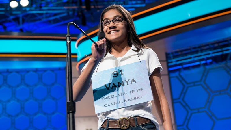 The Spelling Faces of the Scripps National Spelling Bee