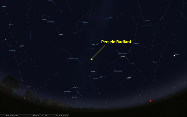 How to catch this weekend's Perseid meteor shower