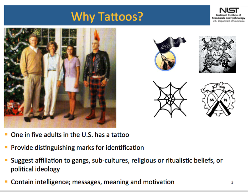 The FBI Is Developing Software to Track and Sort People by Their Tattoos