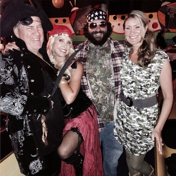 Bill Belichick Dressed Up As A Pirate For Halloween
