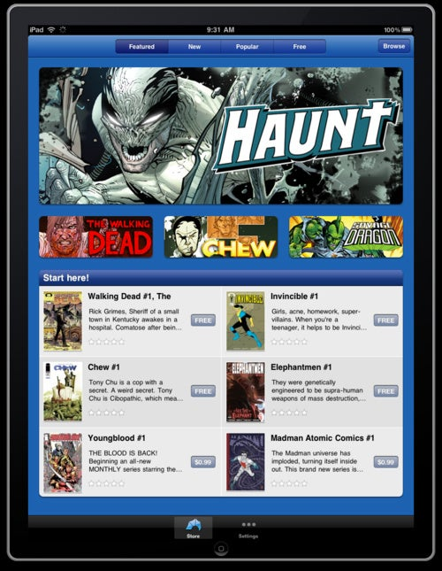 Image Comics iOS App Will Be Full of Independent Titles