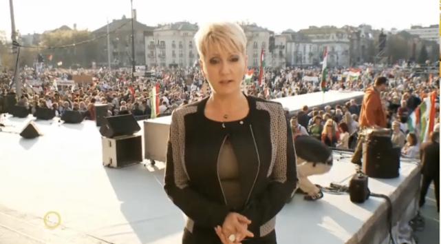 Csak a Fidesz TV2-je szállhatott fel Orbán metrójára, ezt forgatták belőle