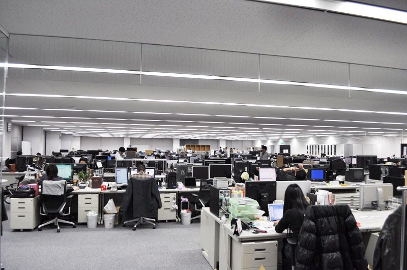 Step Inside the Offices of one of Japan's Hottest Games Developers