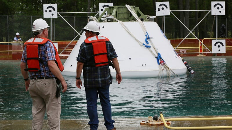 This Is How NASA Tests Its Return Capsules for Landings at Sea