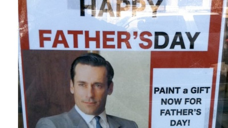 Don Draper Will Flash a Father's Day Stone Face No Matter What His Kids Get Him