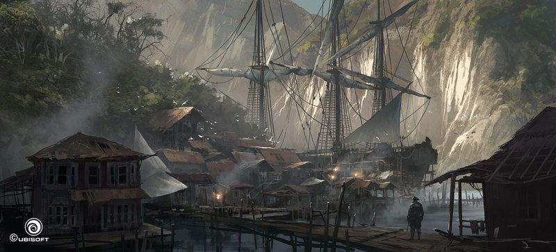 Enough Assassin's Creed IV Concept Art To Shiver Your Timbers