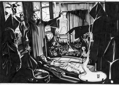 The Concept Art that Sold Sherlock Holmes to Warner Bros.