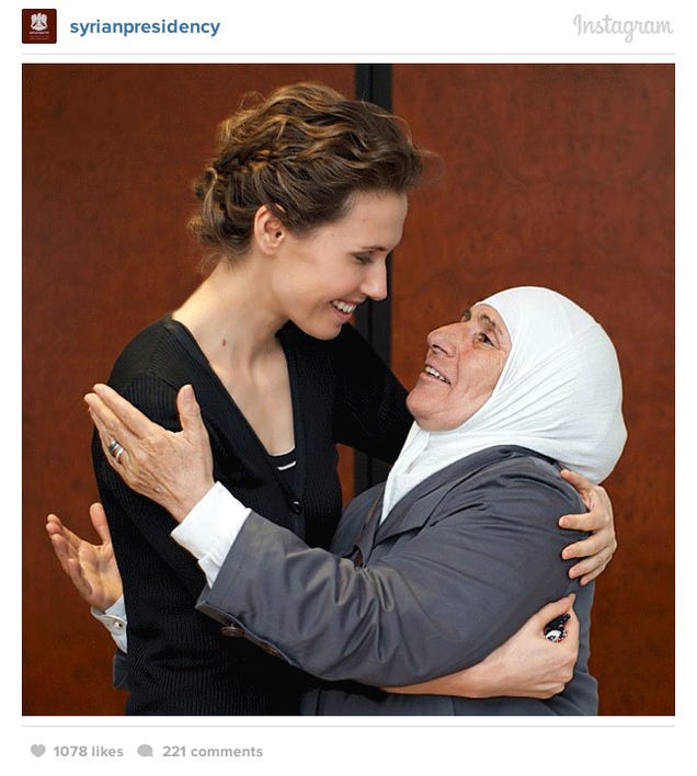 7 Amazing Photos from the Syrian President's Instagram