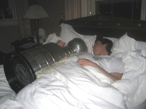 Sidney Crosby's Wild Stanley Cup Orgy