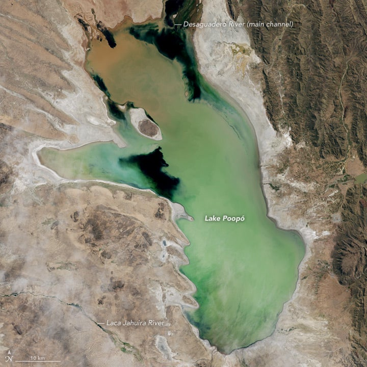 This Dry Patch of Land Used to Be Bolivia's Second Largest Lake