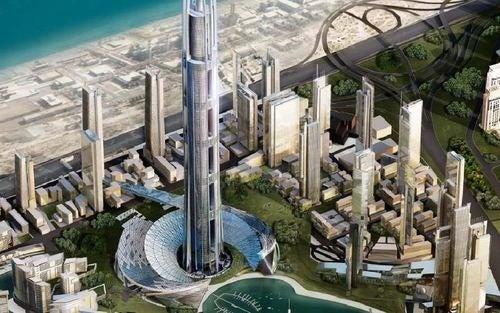 Over a kilometer high, Nakheel Tower is Dubai's greatest skyscraper yet