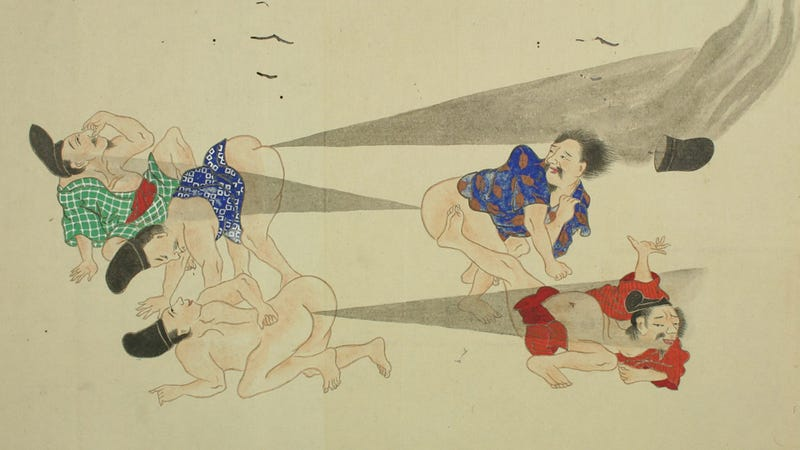 Japanese Fart Scrolls Are the Best Scrolls