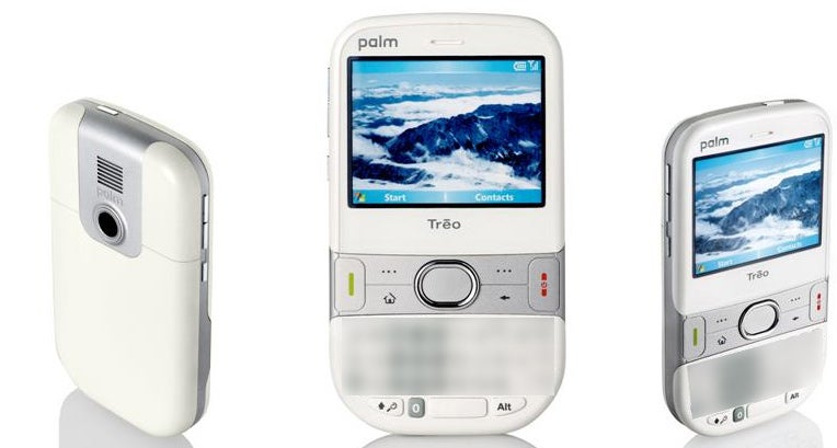 More Treo 500 Leaked Pics Confirm Two Colors