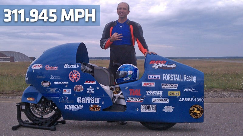 This is the world's fastest motorcycle