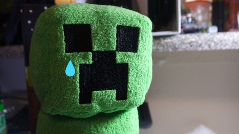 Okay, Maybe the Minecraft Creeper Plush Does Look a Little NSFW