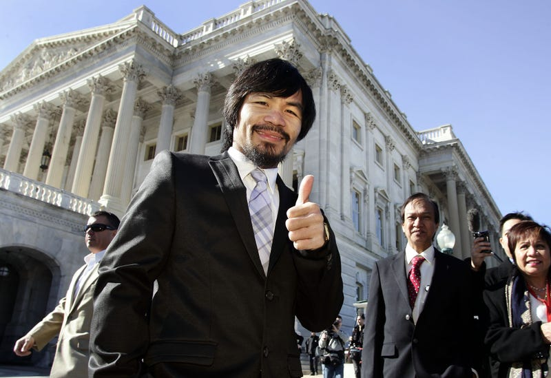 Manny Pacquiao Went To Washington Today. Here Are The Pictures.
