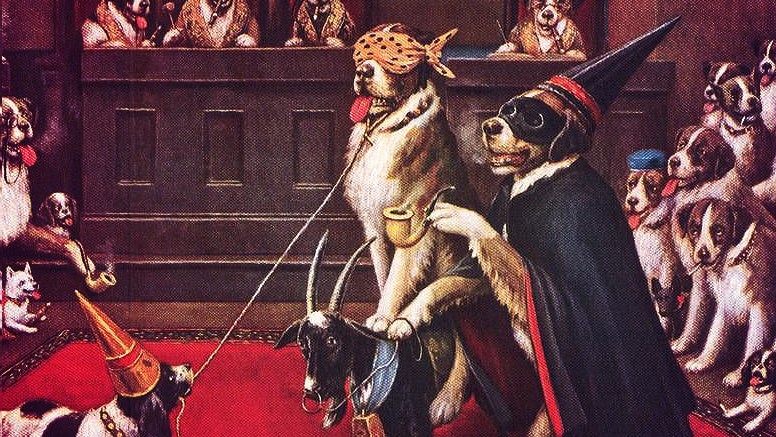 "Exposed: The Original ""Dogs Playing Poker"" Were Freemasons"