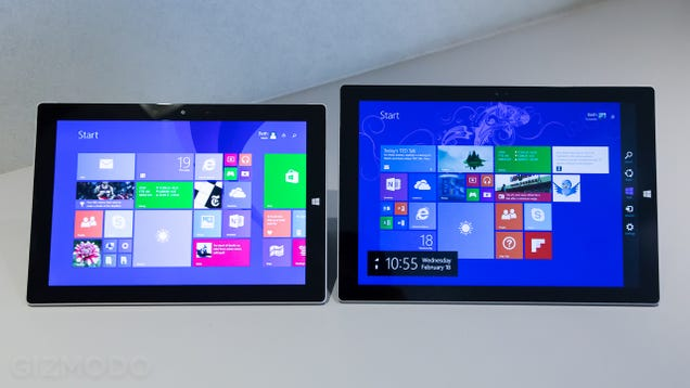 Microsoft Surface 3 Hands-On: Slim, Light, and a Real Computer