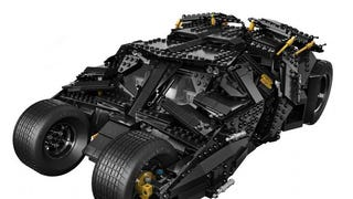 Holy crap, check out the awesome new Lego Batman Tumbler!