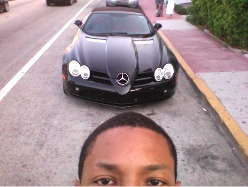 Pharell Williams Thinks His Non-Poser Benz Is Beautiful