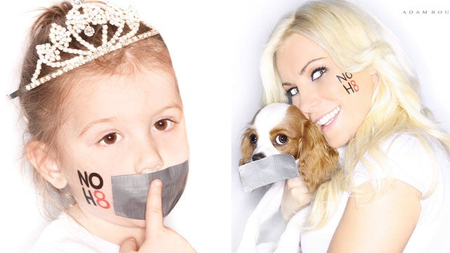 In Memoriam: A Look Back at the Most Elegant Celebrity NOH8 Portraits