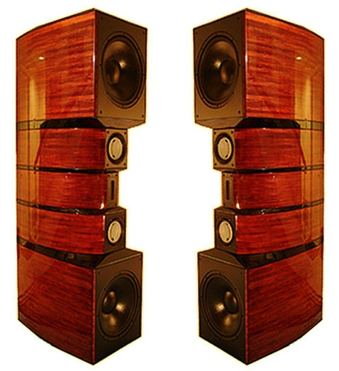 Evolution Acoustics MMthree Speakers Stand Tall with Monster Specs