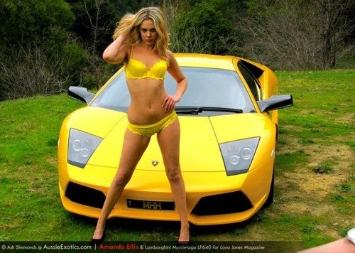 Glam Cars Calendar Images