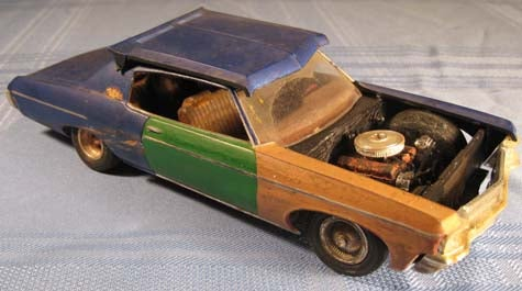 Forget the Weathered Camaro: 1970 Impala Model