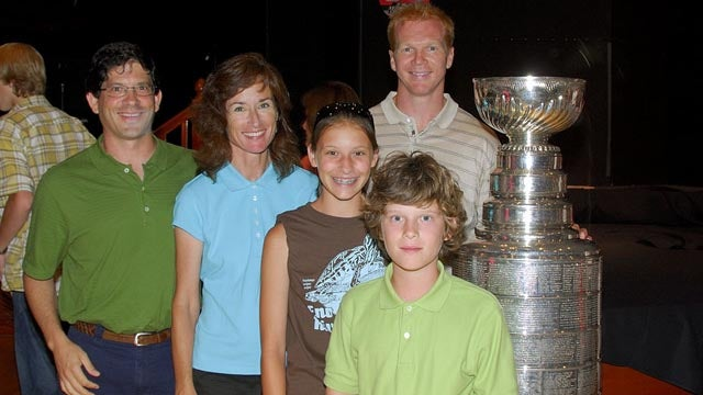 According To Nathan Horton's Wife, The Stanley Cup Was Lost In Boston Yesterday