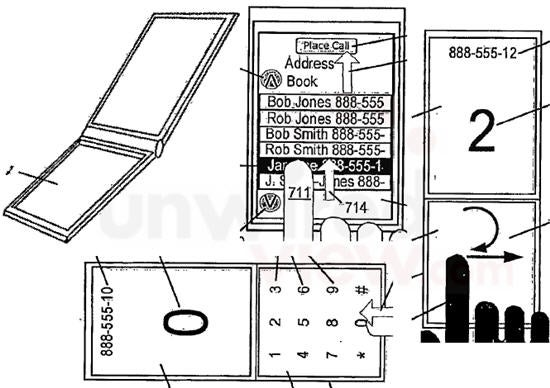 Apple iPhone 2.0 Patent Shows Dual-Touchscreen Flipphone