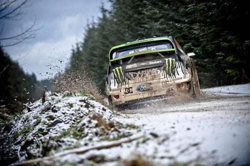 Ken Block Monster Energy WRC Rally Focus: First Photos
