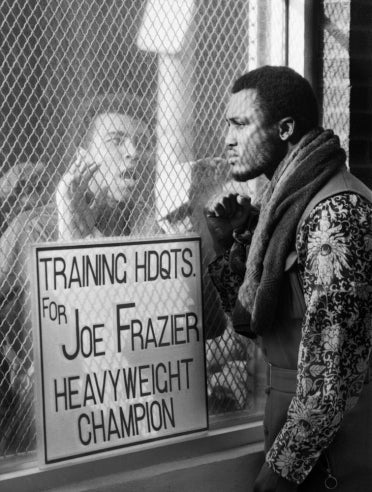 Joe Frazier Was Cooler Than Ali. Discuss.