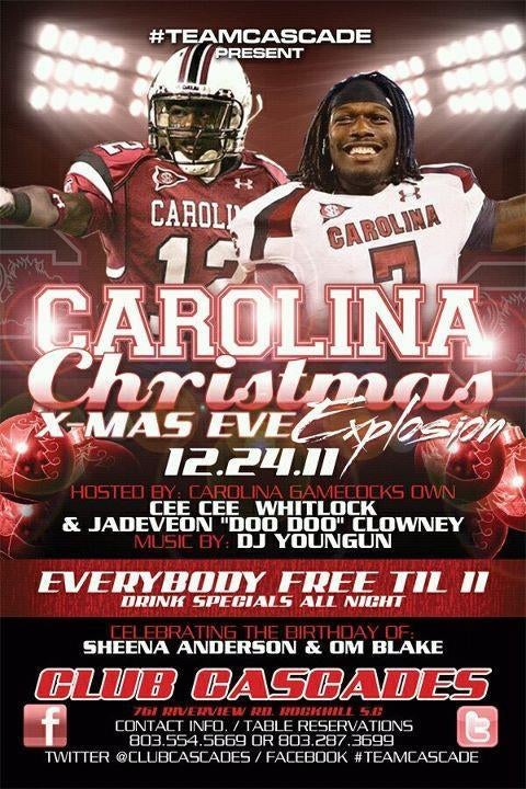 Not This Shit Again: Now It's South Carolina Football Players Promoting A Nightclub Party