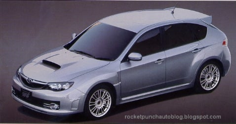 Subaru Impreza STI Brochure Scans